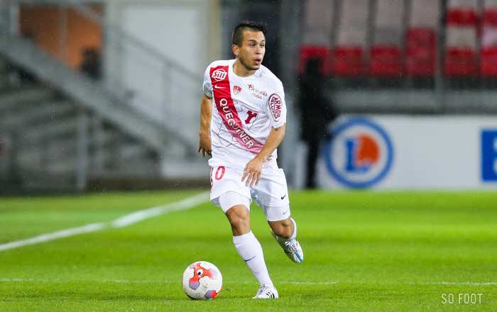 Brest à nouveau leader de Ligue 2
