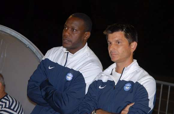 Bruno N'Gotty et Pierre Chavrondier