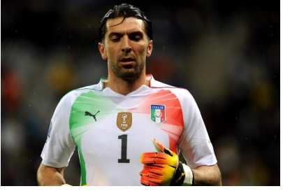 Buffon absent en coupe d'Europe
