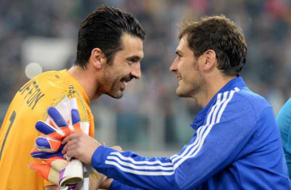 Buffon et l'absence de Casillas