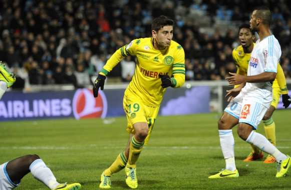 But de Bedoya (FC Nantes) contre Marseille