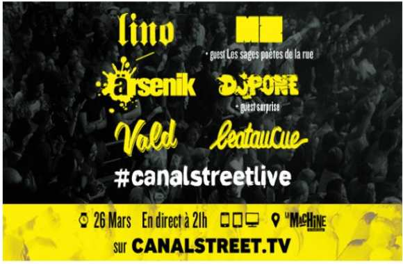 Canal Street Live: 8x2 places à gagner