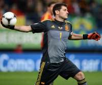Casillas pr�sent au Stade de France