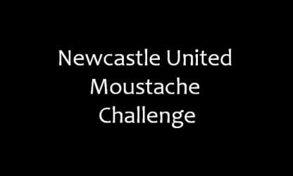 Challenge-moustache à Newcastle