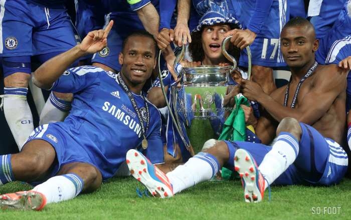 Chelsea champion d'Europe 2012