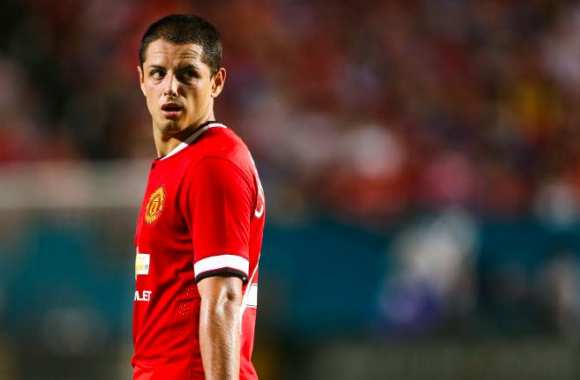 Chicharito barré par Van Gaal