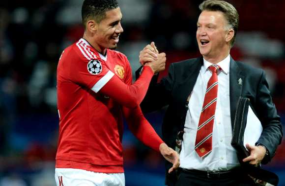 Chris Smalling & Louis van Gaal