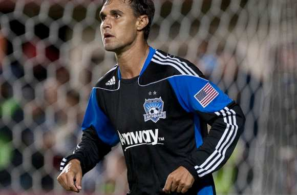 Chris Wondolowski, l'air légèrement allumé