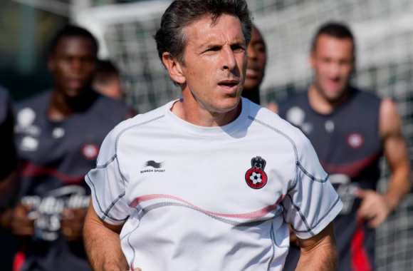 Claude Puel se fait un footing