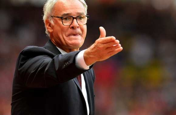 Claudio Ranieri, coach de l'AS Monaco
