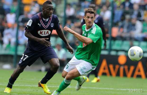 Cl�ment (Saint-Etienne) devance Poko (Bordeaux)