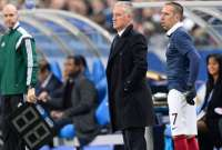 Franck Rib�ry et Didier Deschamps.