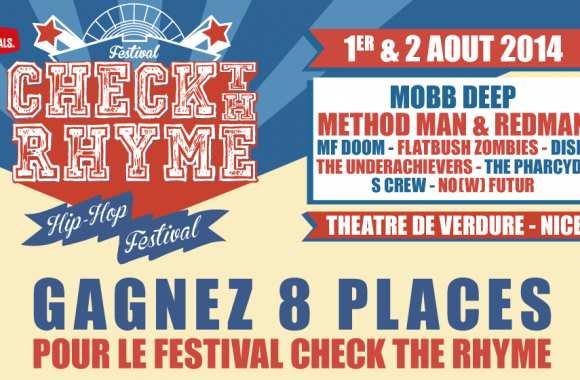 "Concours ""Check the Rhyme"" : Les gagnants"