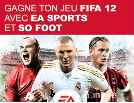 Concours Fifa 12