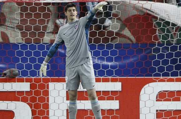 Courtois, un an de plus à l'Atlético