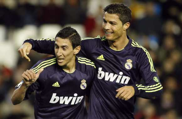CR7 et Angel Di Maria, époque Real Madrid
