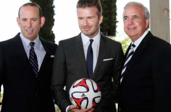 David Beckham, qui fait affaires