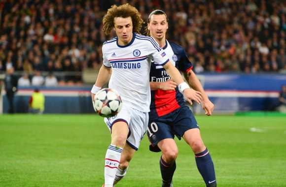 David Luiz (Chelsea) face au PSG
