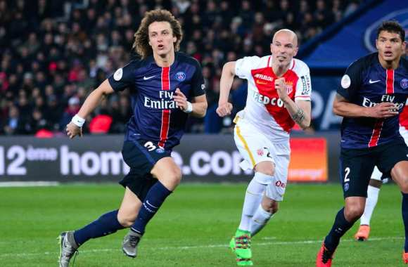David Luiz face à l'AS Monaco
