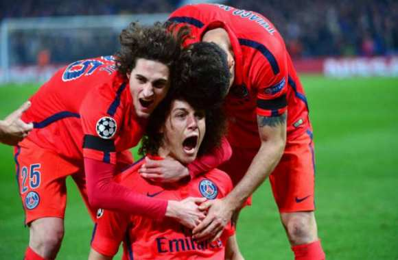 David Luiz prend un peu d'air
