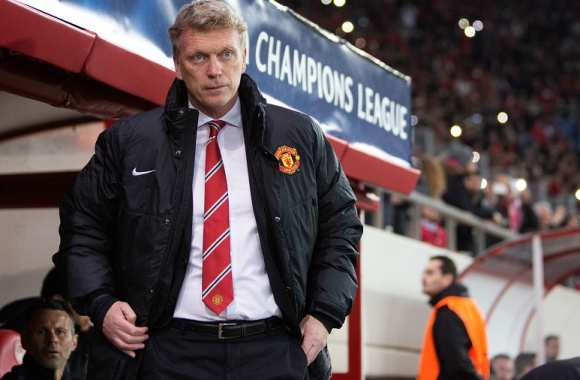David Moyes, coach de Manchester United