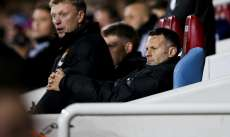 David Moyes et Ryan Giggs