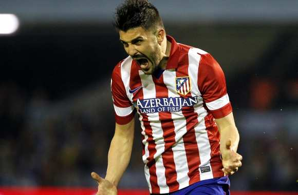 David Villa (Atlético Madrid)