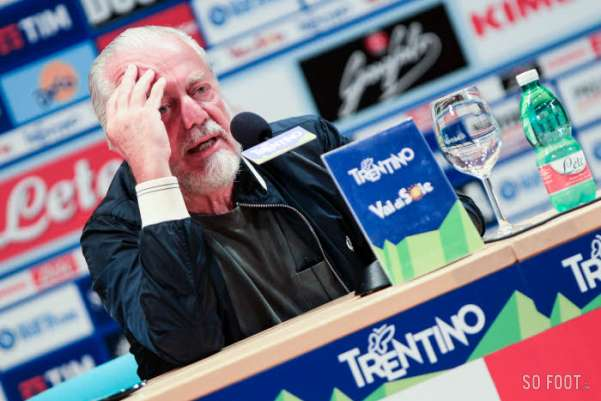 De Laurentiis ne supporte plus les agents