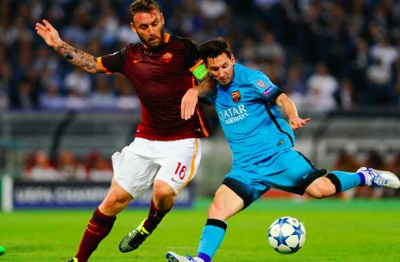 De Rossi face à Messi