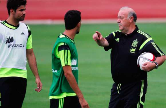 Del Bosque défend Diego Costa