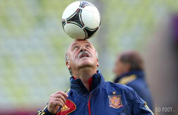 Del Bosque en mode otarie