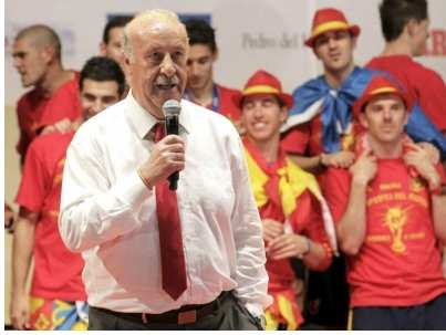 Del Bosque fan des argentins