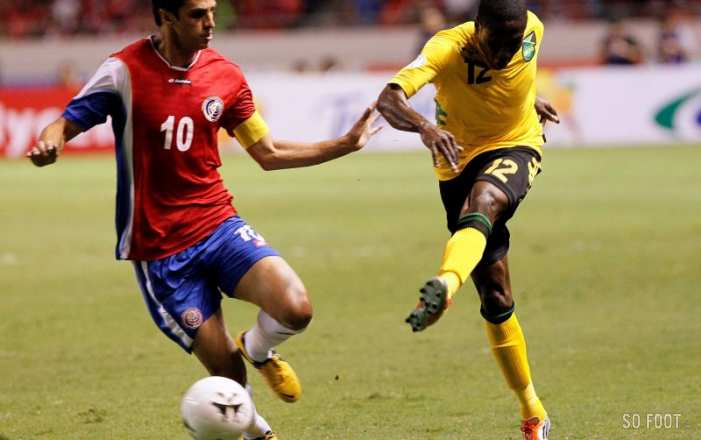 Demar Phillips (Jamaïque) contre le Costa Rica