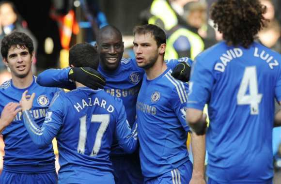 Demba Ba, auteur du but de la qualification pour Chelsea