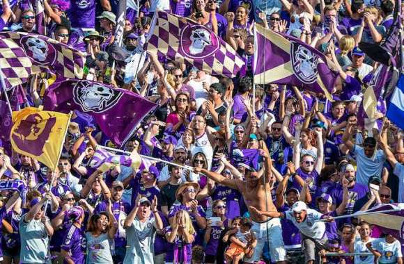 Des supporters d'Orlando.