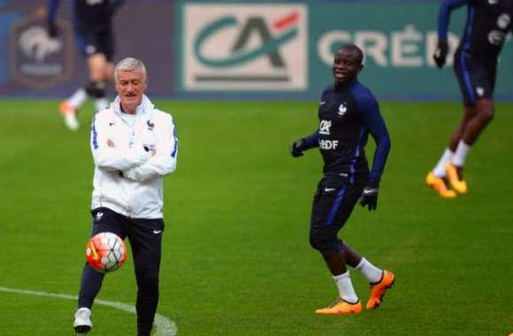 Deschamps ravi par Kanté