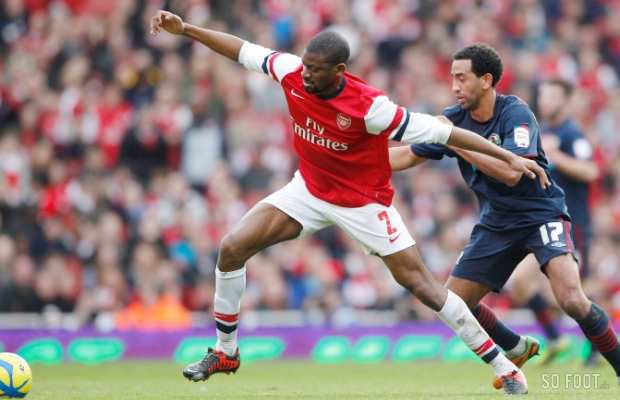 Diaby absent huit � neuf mois