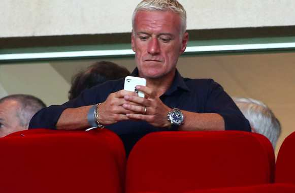 Didier Deschamps à Louis II