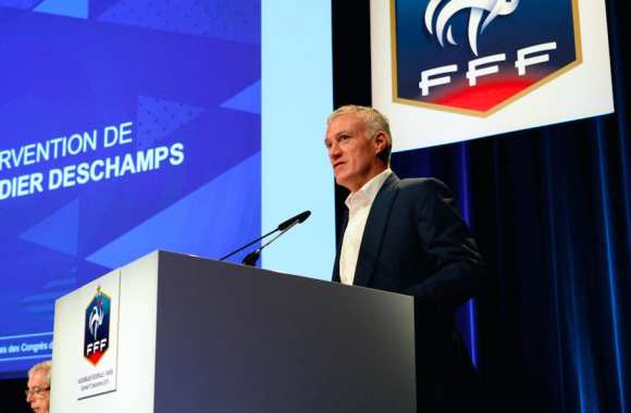 Didier Deschamps au mic