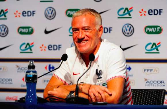 Didier Deschamps, autobronzant