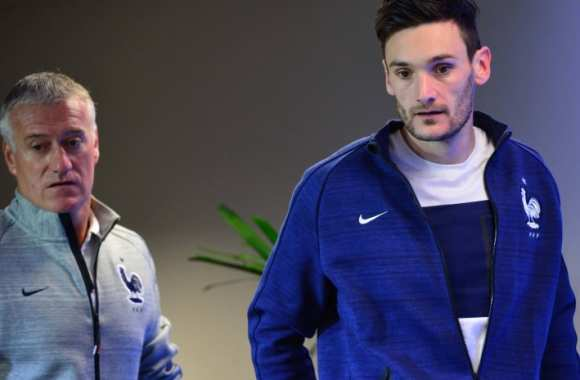 Didier Deschamps et Hugo Lloris.