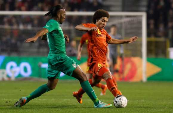 Didier Drogba et Axel Witsel