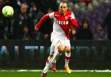 Dimitar Berbatov, attaquant de l'AS Monaco