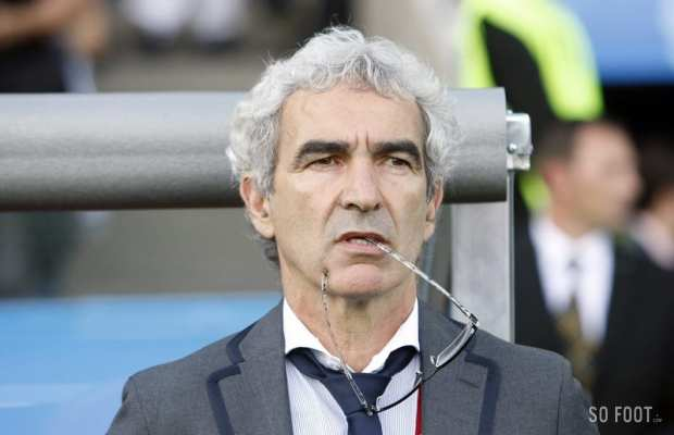 Domenech r�ve des USA