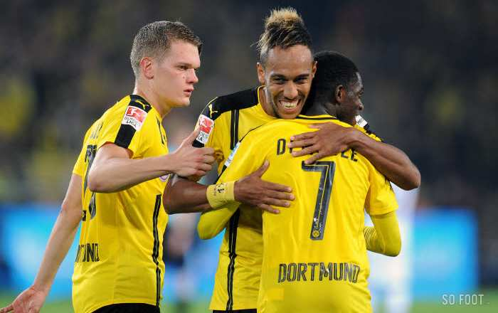 Dortmund cool, Schalke coule