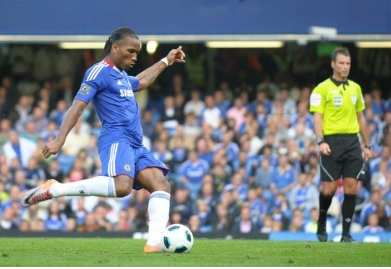 Drogba absent pour Chelsea-OM