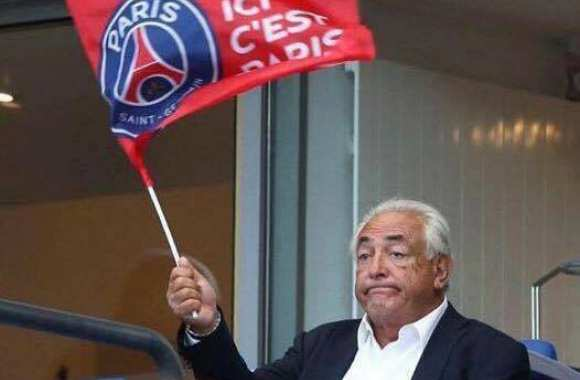 DSK supporter du PSG