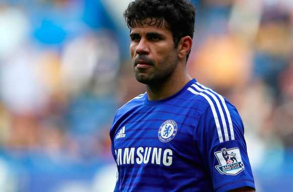 Effectivement, il a l'air marrant, Diego Costa