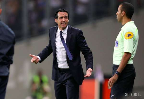 Emery cible l'arbitrage