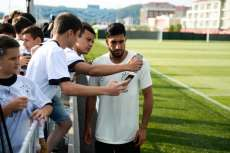Emre Can, patron stagiaire